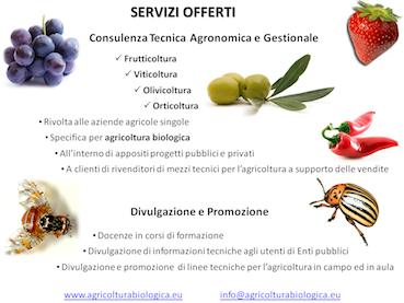 Consulenze agronomiche bio
