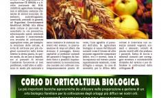Corso Orticoltura biologica a Schio