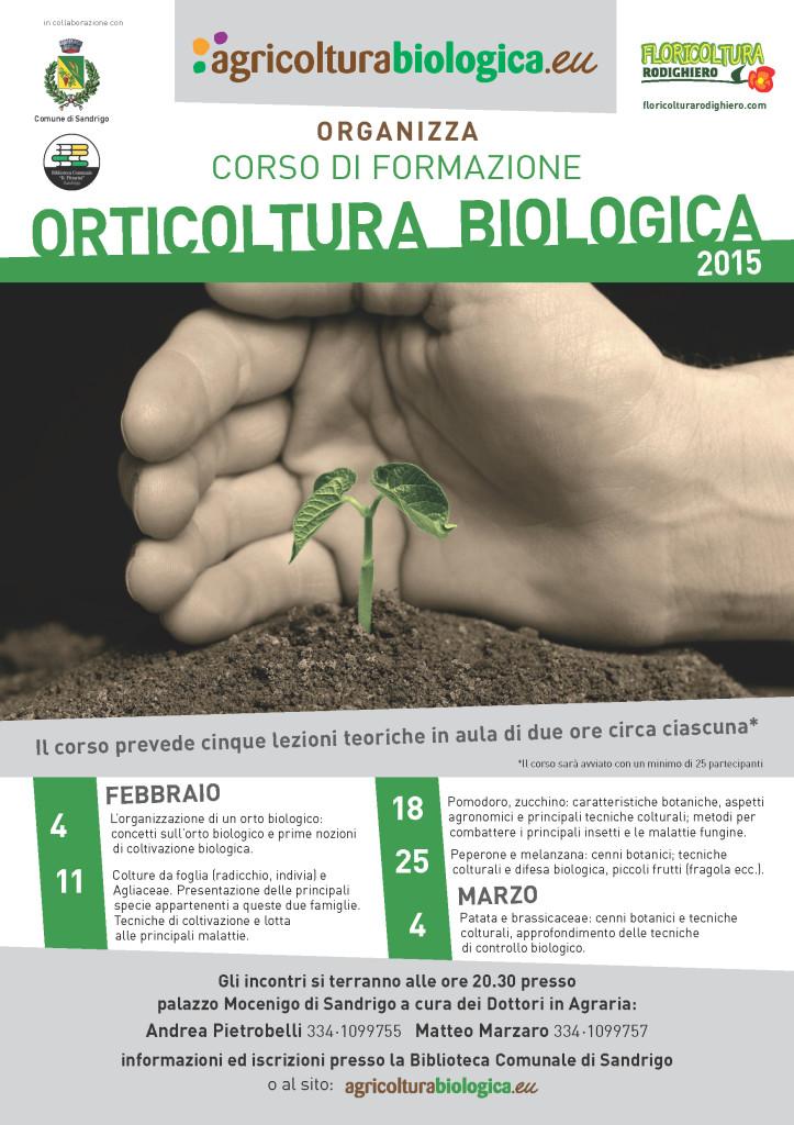 corso di orticoltura biologica a Sandrigo 2015